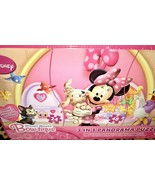 Disney Minnie Mouse Bowtique 3 in  Panorama Puzzle Figaro Daisy Duck - $18.00