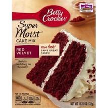 Betty Crocker Super Moist Red Velvet Cake Mix - $9.85