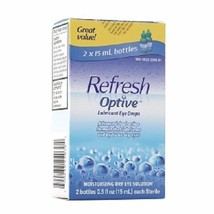Refresh Optive Lubricant Eye Drops Long Lasting Hydration - $23.71