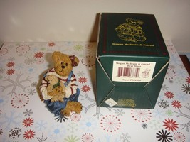 Boyds Bearstone Megan McBruin & Friend Bear Hugs - $14.49