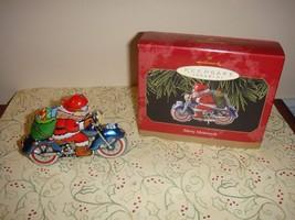Hallmark 1999 Merry Motorcycle Ornament - $10.49