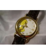 "TWEETY by Warner Bros. - White Face Watch  - 8""Leather Band - w/battery - $19.99"