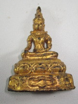 LAST LEFT! Ancient Gold Phra Chai Zong-Krueng 300 yr Magic Thai Buddha Amulets - $29.99