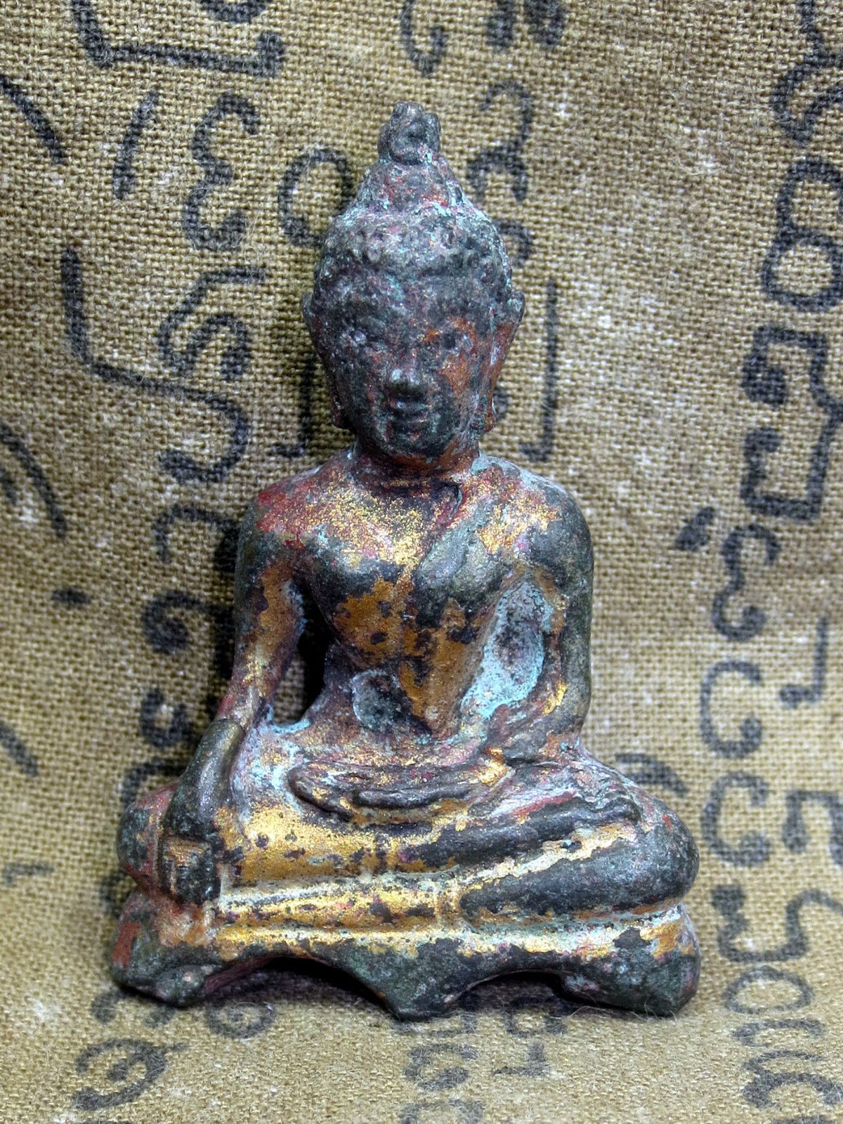 Primary image for LAST LEFT! Holy Phra Buddha Pang-Maravichai Top Protective Thai Buddha Amulets