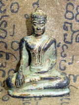 Very Rare! Ancient Phra Bucha Maravichaya Excavated Top Thai Buddha Amulets - $12.99