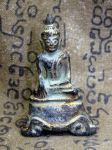 Very Rare! Ancient Phra Ayuttaya Sam-Kha Excavated Powerful Thai Buddha ... - $12.99