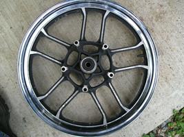 Honda chromed front wheel, 5 double spokes, 2.50x18 - $22.52