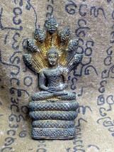 LAST LEFT! Holy Phra Nak-Prok Excavated Bucha Protective Thai Buddha Amulets - $12.99