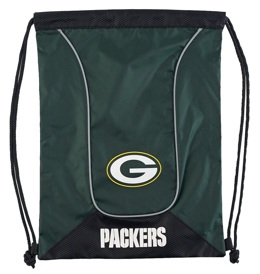 GREEN BAY PACKERS DOUBLEHEADER BACK SACK PACK SCHOOL GYM BAG NFL FOOTBALL