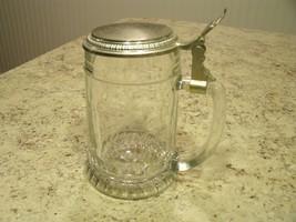 Vintage 1978 Anheuser Busch 40 Million Barrels Lidded Glass Stein West G... - $28.96
