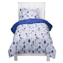 NEW CIRCO Blossom Birdhouse Blue Duvet Cover and Standard Shams Set - $44.99