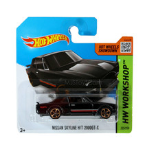 NEW 2014 Hot Wheels HW WORKSHOP Nissan Skyline H/T 2000GT-X European car... - €12,79 EUR