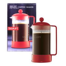 NEW Bodum Brazil Coffee Maker Shatterproof  8-Cup/32 0z French Press Ele... - £30.11 GBP