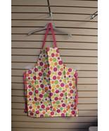 NEW MULTI PURPOSE PINK RETRO CIRCLES CLEANING ARTS & CRAFTS WASHING APRO... - $4.99
