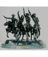 "Frederic Remington Lost Wax Bronze ""Coming Through the Rye"" Medium - $1,299.00"