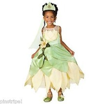 Disney Store Deluxe Princess and the Frog Tiana Wedding Gown Dress Costume - $129.00