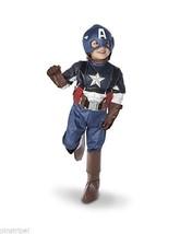 Disney Store Captain America Costume SOLD OUT Marvel Mask Gloves Belt Costume - $59.00+