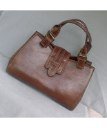 Caro Brown Satchel Carry Everything Handbag - $22.00
