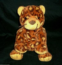 Ty Pluffies Pokey Leopard Stuffed Animal Print Plush Toy Soft 2003 B EAN S Cheetah - $12.65