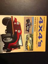 1945 1950 1993 Standard Catalog of 4X4'S Trucks Vans Sports Sedan Manual - $26.73
