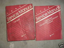 1984 Chrysler Conquest Service Repair Shop Manual Set W Supplement Book Oem - $9.79