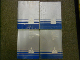 1987 MITSUBISHI Cordia Tredia Service Repair Shop Manual 4 VOL SET FACTO... - $51.49