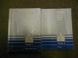 1989 Mitsubishi Truck Service Repair Shop Manual Factory Oem Set 2 Volume Deal - $43.51
