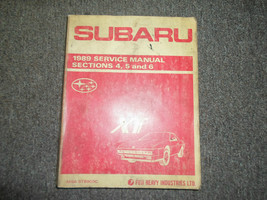 1989 Subaru XT Section 4 5 6 Service Repair Shop Manual FACTORY OEM BOOK... - $19.79