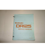 1990 Suzuki DR125 Service Manual MINOR STAINS 2nd Ed 995004100103E LOOSE LEAF*** - $23.72