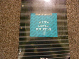 1991 Mazda Service Bulletins Service Repair Shop Manual FACTORY OEM BOOK 91 x - $54.45