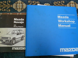 1991 Mazda Navajo Service Shop Repair Manual Set Oem Factory Books Dealership 91 - $11.88