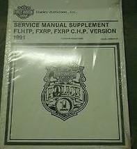 1991 Harley Davidson Flhtp Fxrp Fxrp Chp Service Shop Manual Supplement New - $98.99