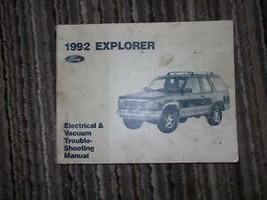 1992 FORD AEROSTAR MINI VAN Electrical Wiring Diagrams Service Shop Manu... - $9.89