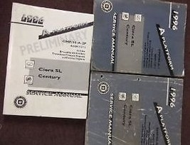 1996 Buick Century Oldsmobile Ciera Sl Service Repair Shop Manual Manual Set 3 Bk - $43.99
