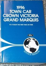 1996 LINCOLN TOWN CAR Service Shop Manual OEM 96 FACTORY OEM BRAND NEW BOOK - $128.70