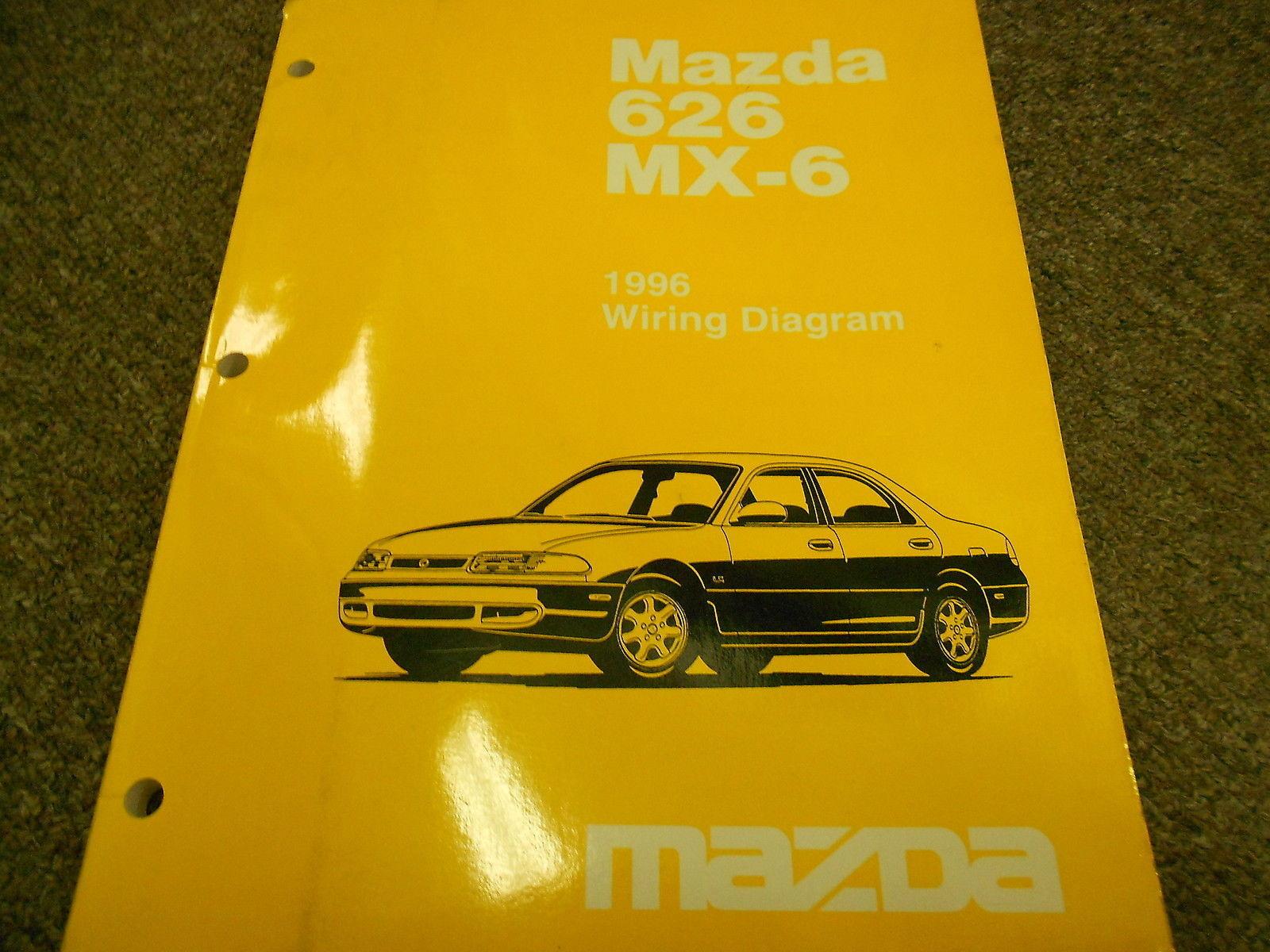 1996 MAZDA 626 MX-6 MX6 Electrical Wiring Diagram Service Repair Shop Manual  96 - $8.78
