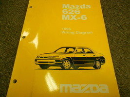 1996 MAZDA 626 MX-6 MX6 Electrical Wiring Diagram Service Repair Shop Manual 96 - $8.78