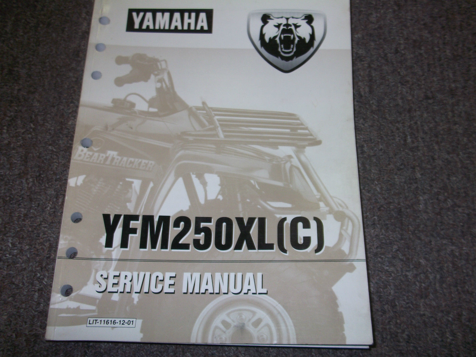 1998 1999 Yamaha YFM250XL YFM 250 XL C ATV Shop Service Repair Manual  FACTORY x - $69.29