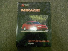 1999 Mitsubishi Mirage Service Repair Shop Manual Vol 1 Factory Oem Dealership - $39.59