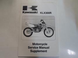 2000 2001 2002 Kawasaki KLX300R Motorcycle Service Manual Supplement FACTORY NEW - $138.55