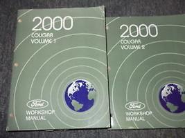 2000 FORD MERCURY COUGAR Service Shop Repair Manual Set BRAND NEW OEM BO... - $178.20