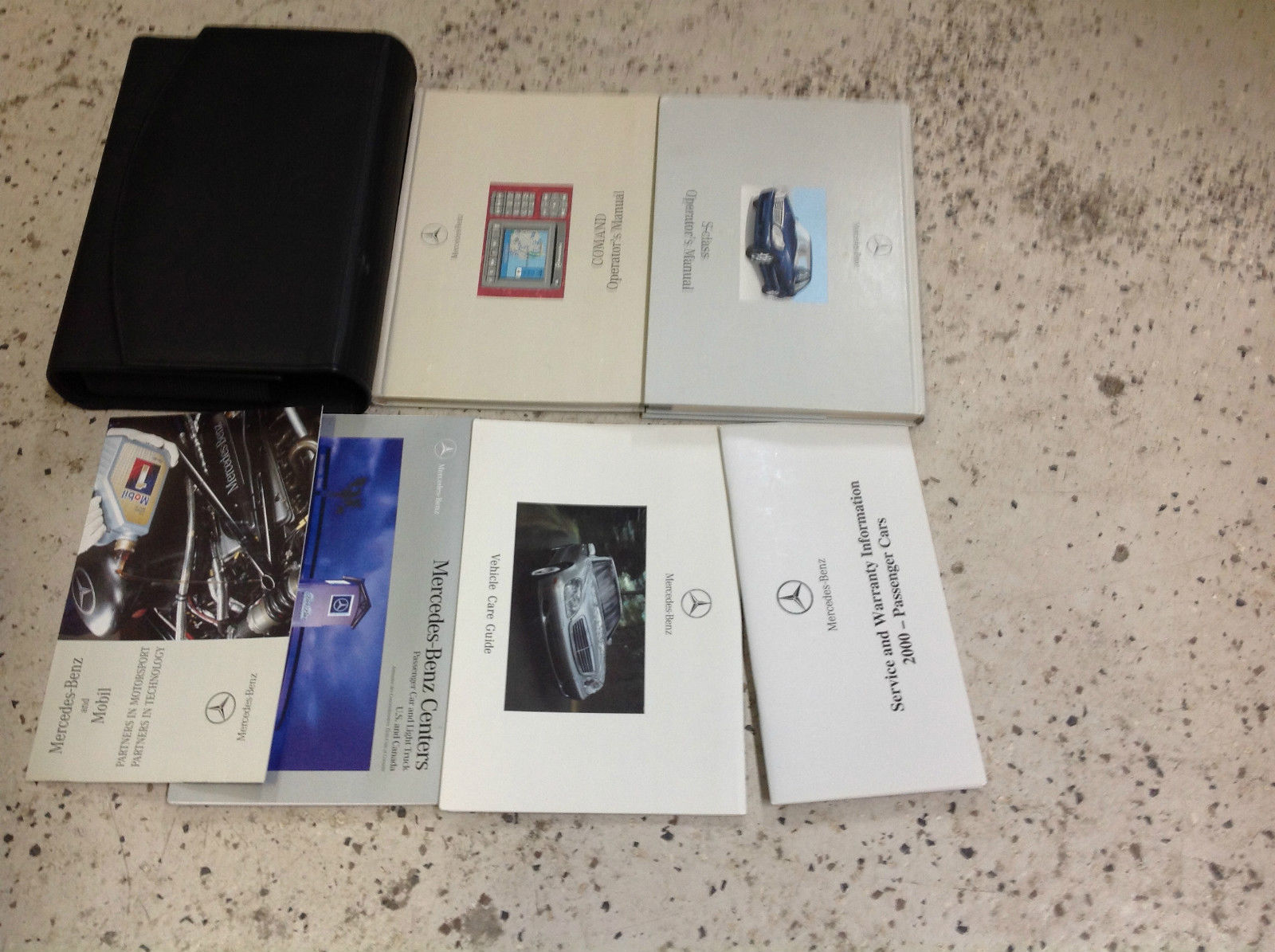 S l1600. S l1600. 2000 MERCEDES S Class S430 S500 S55 S600 Operators OWNERS  Manual ...