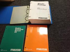 2000 Mazda Protege Service Repair Workshop Shop Manual Set W Engine + Trans Book - $168.25