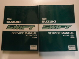 2000 Suzuki Swift Service Shop Manual Factory Book 00 2 Volume Set Brand New Oem - $297.00