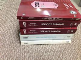 2001 Chevy Chevrolet Impala Monte Carlo Service Shop Repair Manual SET W... - $395.99