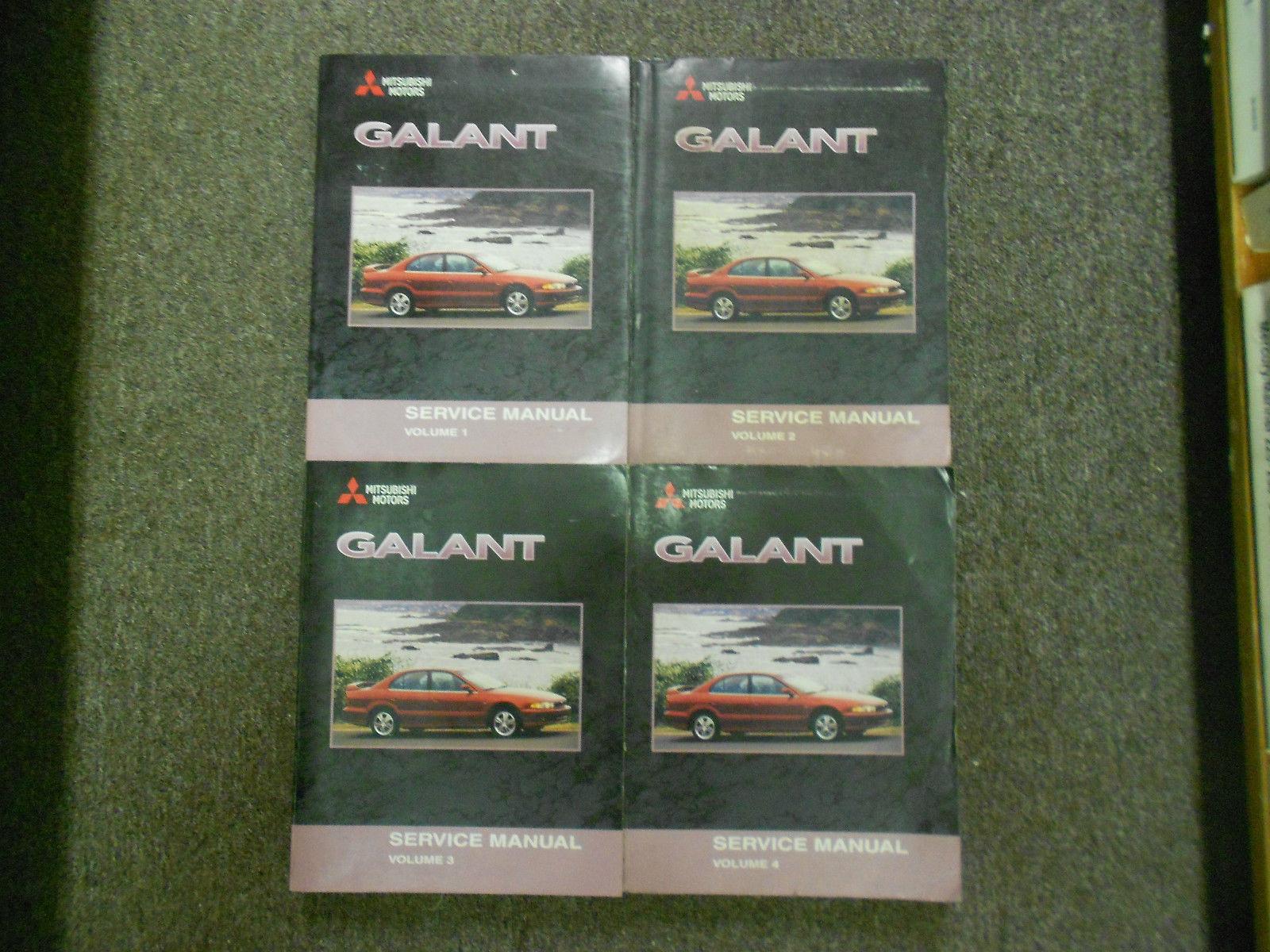 2001 MITSUBISHI Galant Service Repair Shop Manual FACTORY OEM SET BOOK x 4 VOL