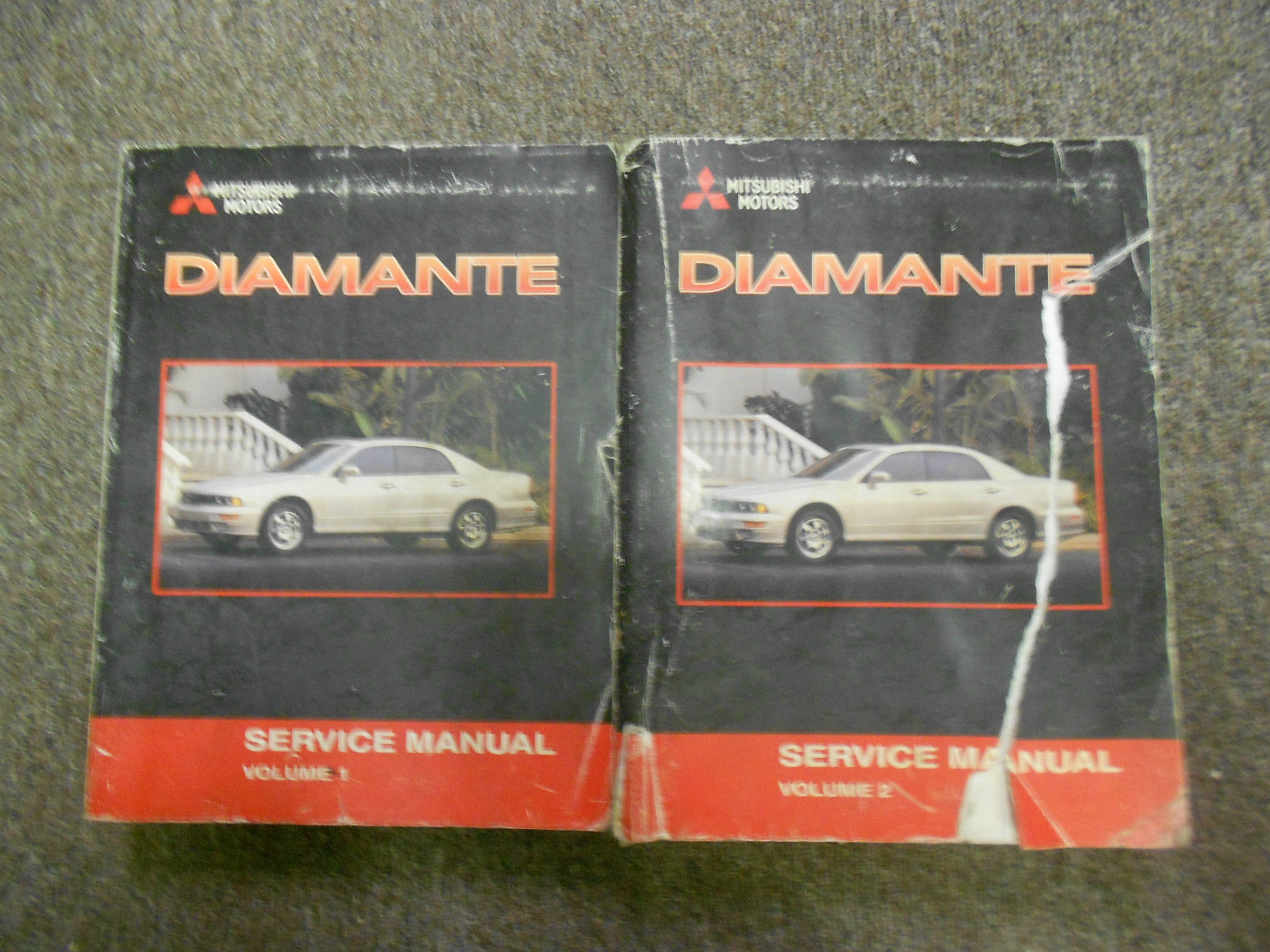 Primary image for 2001 MITSUBISHI Diamante Service Repair Shop Manual FACTORY OEM BOOK 01 SET X