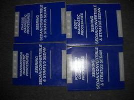 2002 Dodge Stratus Service Shop Repair Manual Set Oem Factory Diagnostics 02 - $71.41