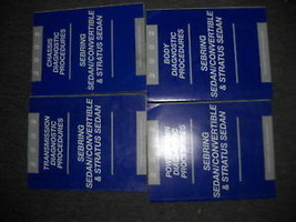 2002 DODGE STRATUS Service Shop Repair Manual SET OEM FACTORY DIAGNOSTIC... - $71.41