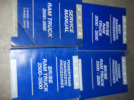 2002 Dodge Ram Truck DIESEL 2500 3500 Service Shop Repair Manual Set FAC... - $316.75
